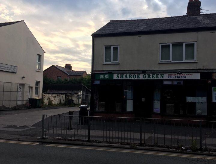 Sharoe Green takeaway has closed Pic: Blog Preston
