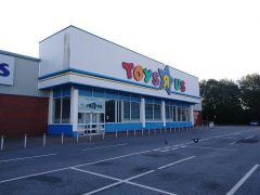 The former Toys R Us in the Deepdale Shopping Park Pic: Blog Preston