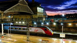 A Virgin Pendolino standing at Preston Railway Station Pic: Paul Melling