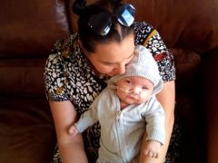 Baby Jack with his Nonna, Naomi