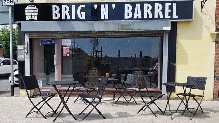 Exterior of Brig 'n' Barrel