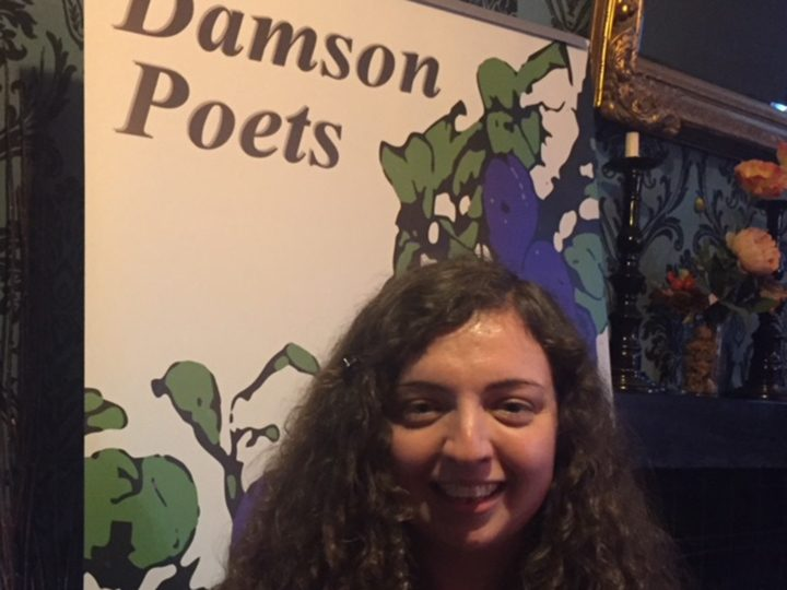 Jessica Sneddon recently performed at a Damson Poets event Pic: Christine Burke