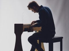 Josh Semans playing the ondes Martenot