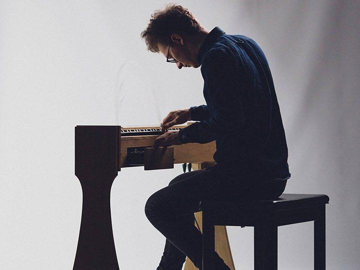 Josh Semans playing the ondes Martenot