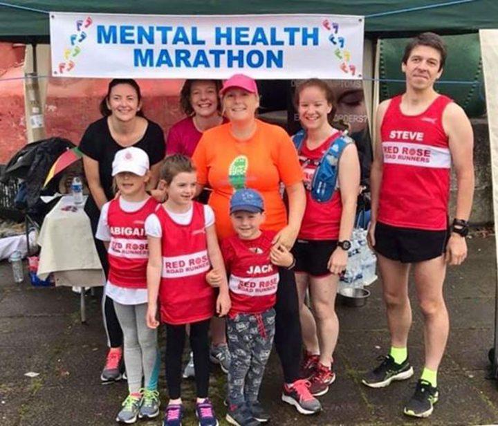 Mental Health Marathon participants Pic: Tracy Jackson