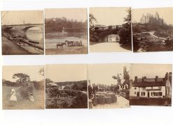Scanned copies of photographs of Preston from the early 1900s