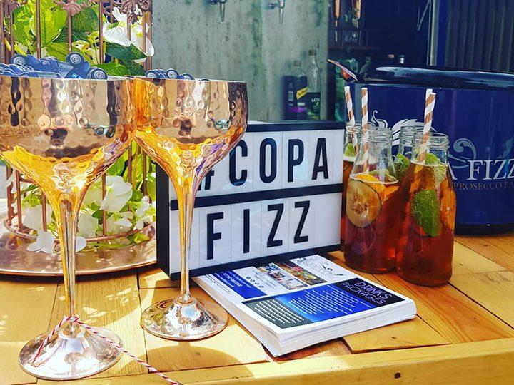 Copa Fizz stall
