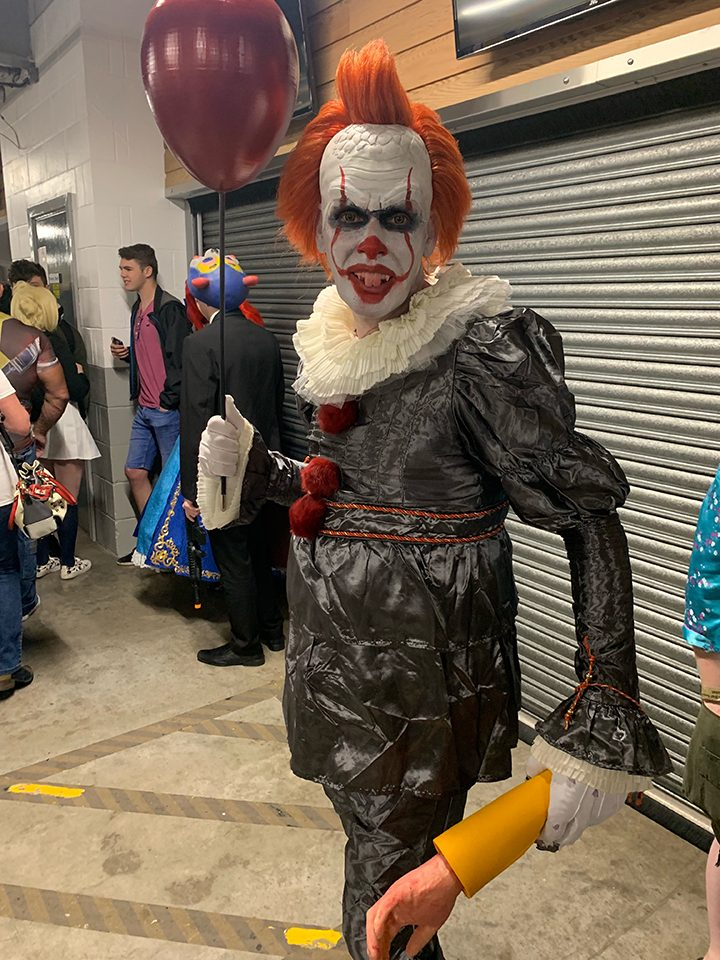 Pennywise from Stephen King's IT cosplay