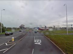 Preston New Road in Samlesbury Pic: Google