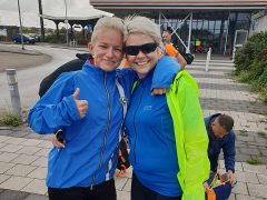 Rachelle Callaghan and Rebecca Hewitson