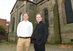 Rev. Sam Haigh and Father David Craven