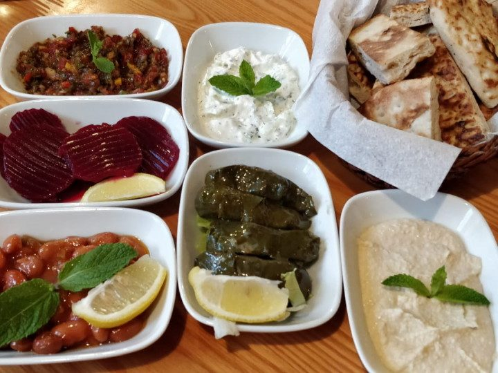 Round one of the House Special Mezze