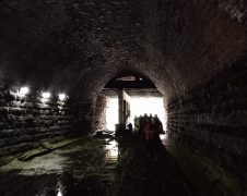 Entering the stretch of Miley Tunnel from Maudland Bank Pic: Blog Preston