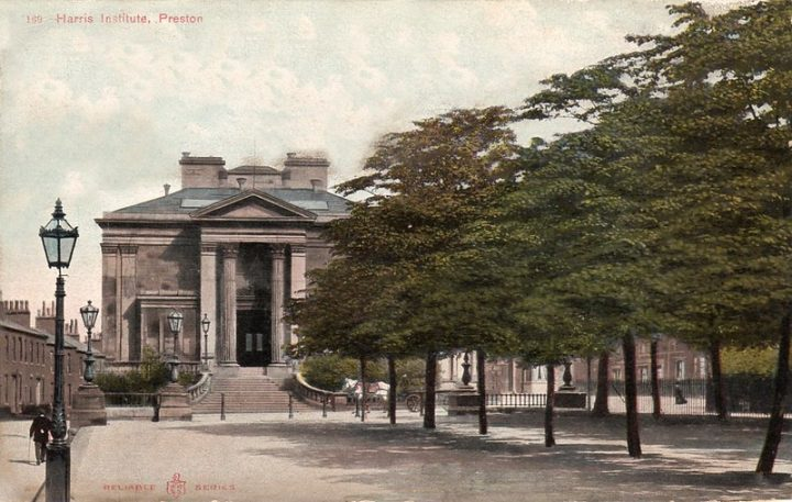 A postcard if the Harris Institute during its time of operation Pic: Preston Digital Archive