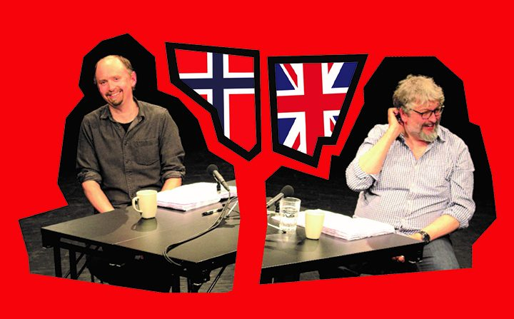 Andy Smith and Amund Sjølie Sveen