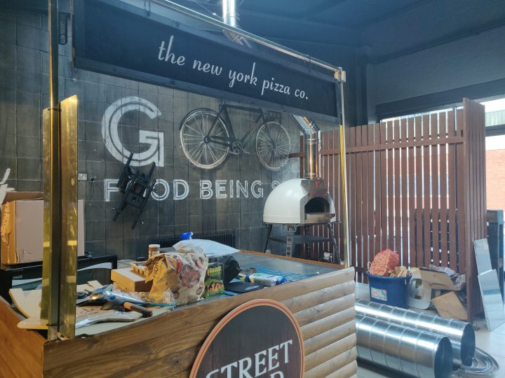 The New York Pizza Co. Stall in Street Food Preston