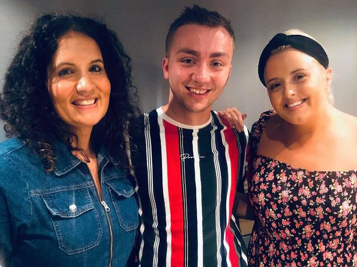 Jack Dinsley with Dr Radha and Katie Thistleton from BBC Radio 1's Life Hacks