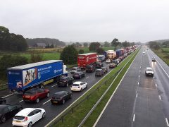 M6 traffic Pic: Anthony Roberts