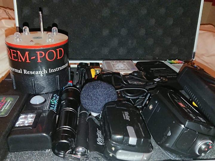 Steve's equipment