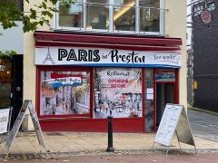 Paris in Preston exterior