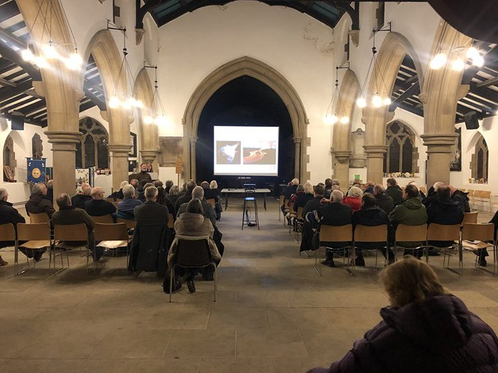 Preston Society - Birdwatching and Natural History meet in St Mary's Church in Penwortham