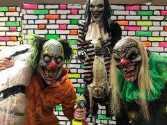 Scream House Preston live scare actors