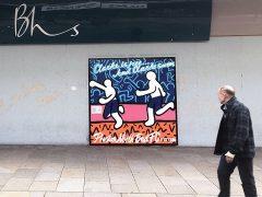 The street art in Fishergate