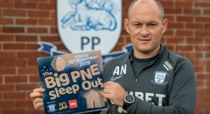 Alex Neil is urging PNE fans and the city to get behind the Big PNE Sleep Out