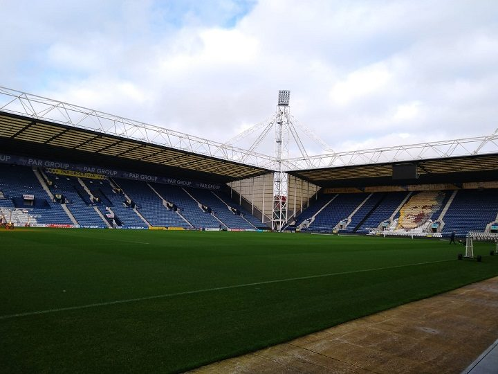 Looking towards the Kop end in Deepdale Pic: Blog Preston