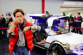 Back to the Future scene from Dortmund Comicon Pic: Peggy und Marco Lachmann-Anke from Pixabay