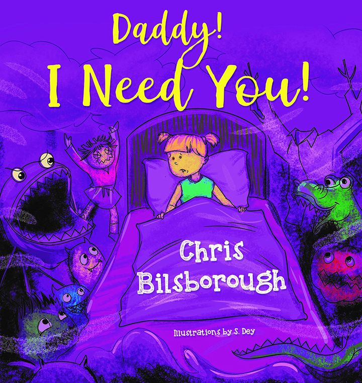 The front cover of Daddy! I Need You!