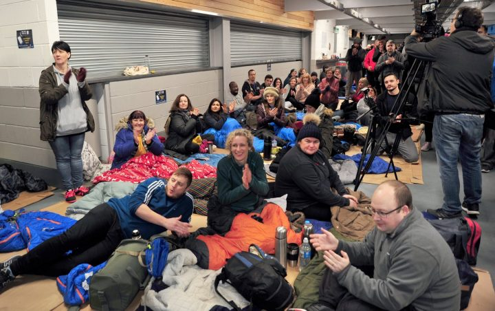 The Big PNE Sleep Out in Deepdale