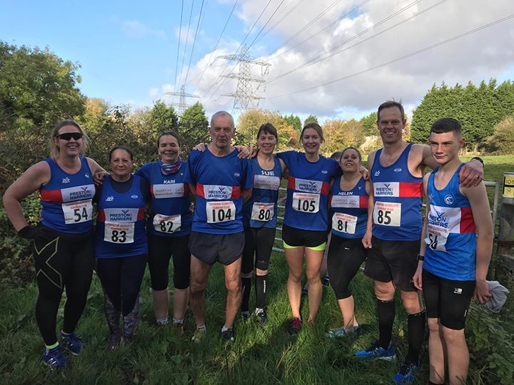 Preston Harriers runners