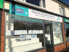 RSPCA shop front in Penwortham