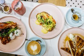 Brunch plates from Rise