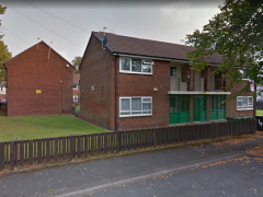 Fire Crews were called to a flat on Waverley Place
