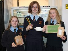 ATS pupils with compostable and biodegradable packaging