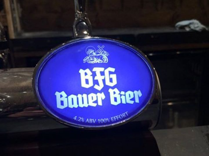 BFG Bauer Bier, named after PNE defender Patrick Bauer