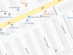 New Hall Lane map