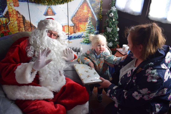 Santa was feeling very generous this weekend.