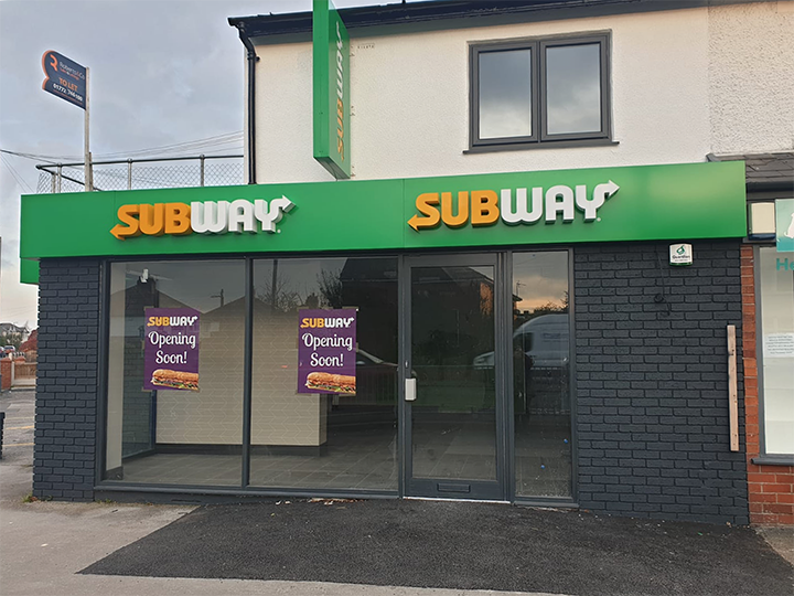 The new Subway store at 78 Liverpool Road