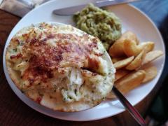 The Green Man fish pie