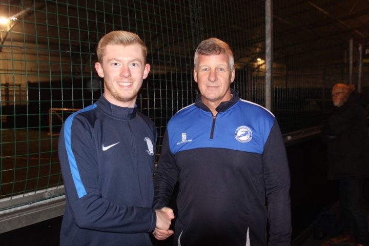 Alistair White (left) and Peter Mason (right) at last weeks launch of Every Player Counts