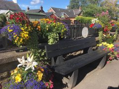 Croston looking very pretty Pic: Croston in Bloom / Facebook