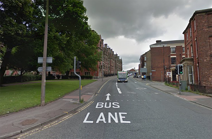 Fishergate Hill bus lane