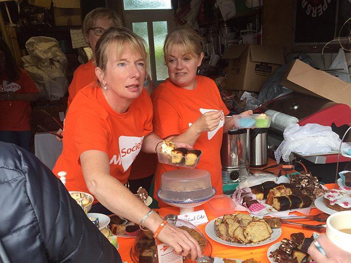 MS Society Preston Group volunteers
