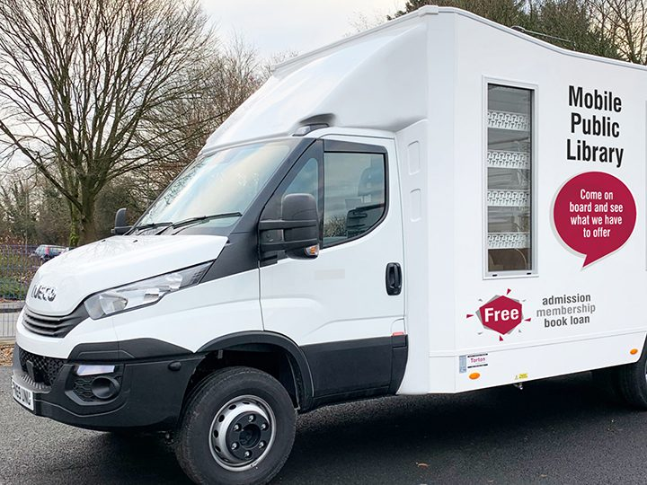 A new mobile library vehicle