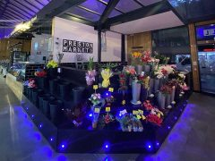 Preston Flowers market stall