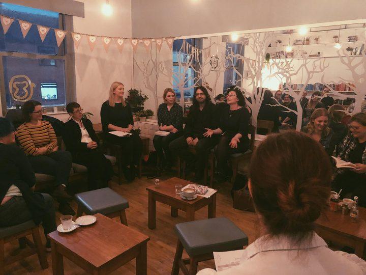 A Preston Book Group meeting