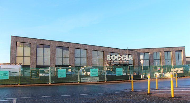 Roccia showroom exterior